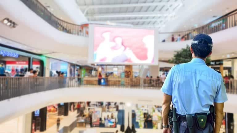 Shopping Mall Security
